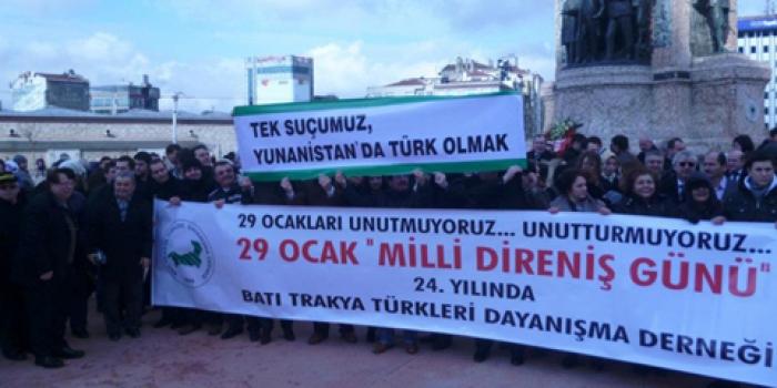 29 Ocak Mili Direniş Günü 24. Yılında bir dizi etkinlikle İstanbul'da anıldı