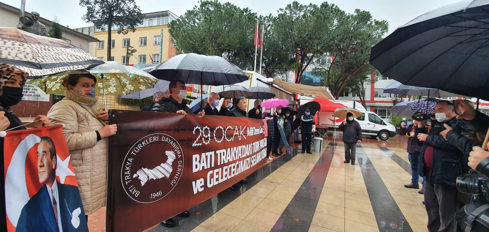 29 Ocak Milli Direniş Günü Soma'da Anıldı