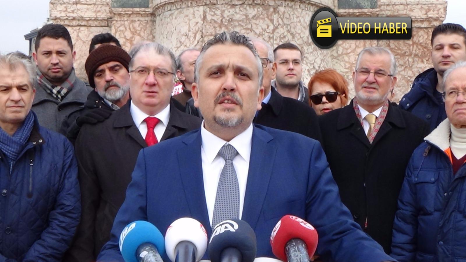 29 Ocak Milli Direniş Günü Taksim Basın Açıklaması