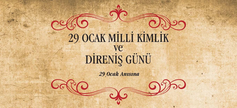 29 Ocak Milli Kimlik ve Direniş Günü Fotoğraf Sergisi Bursa'da açıldı