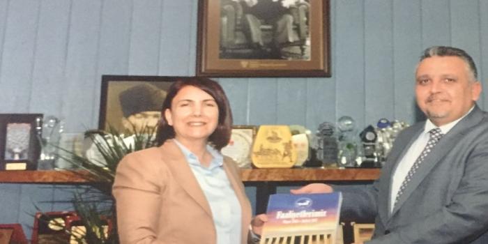 Avcılar Belediye Başkanı Makamında Ziyaret Edildi