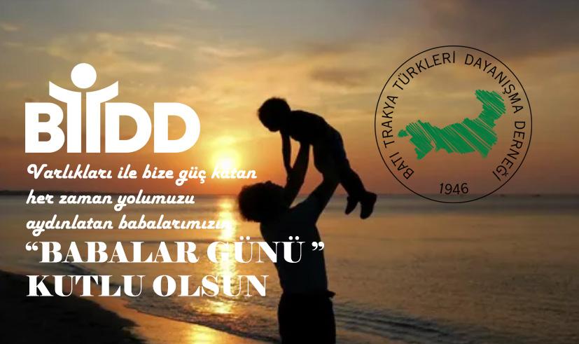 Tüm Babalarımızın Günü Kutlu Olsun