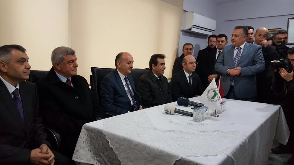 Bakanımız Dr. Mehmet Müezzinoğlu'ndan İzmit Şubemize Ziyaret