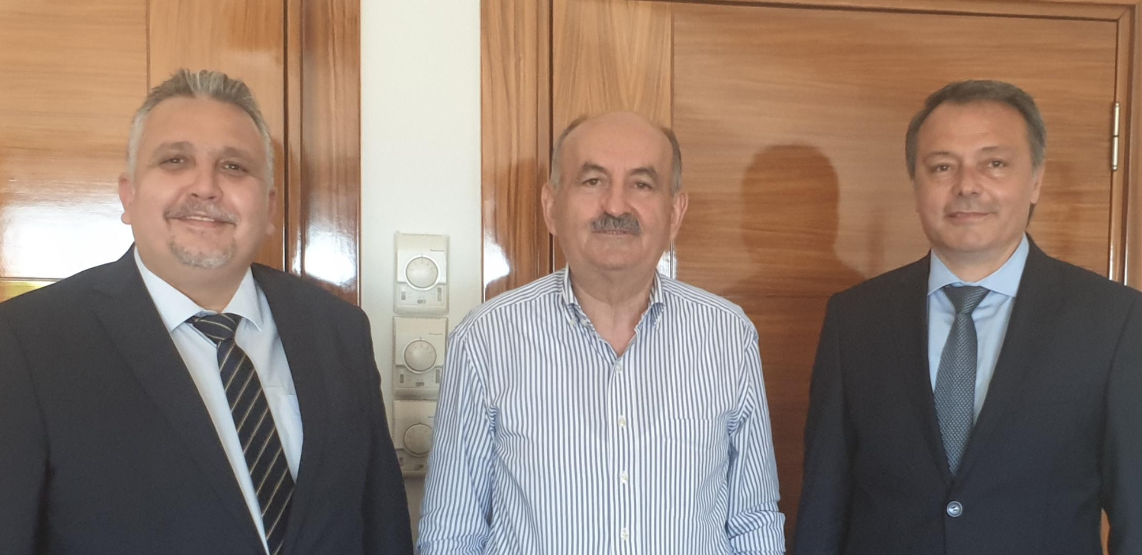 Bakanımız Mehmet Müezzinoğlu İle Görüştük