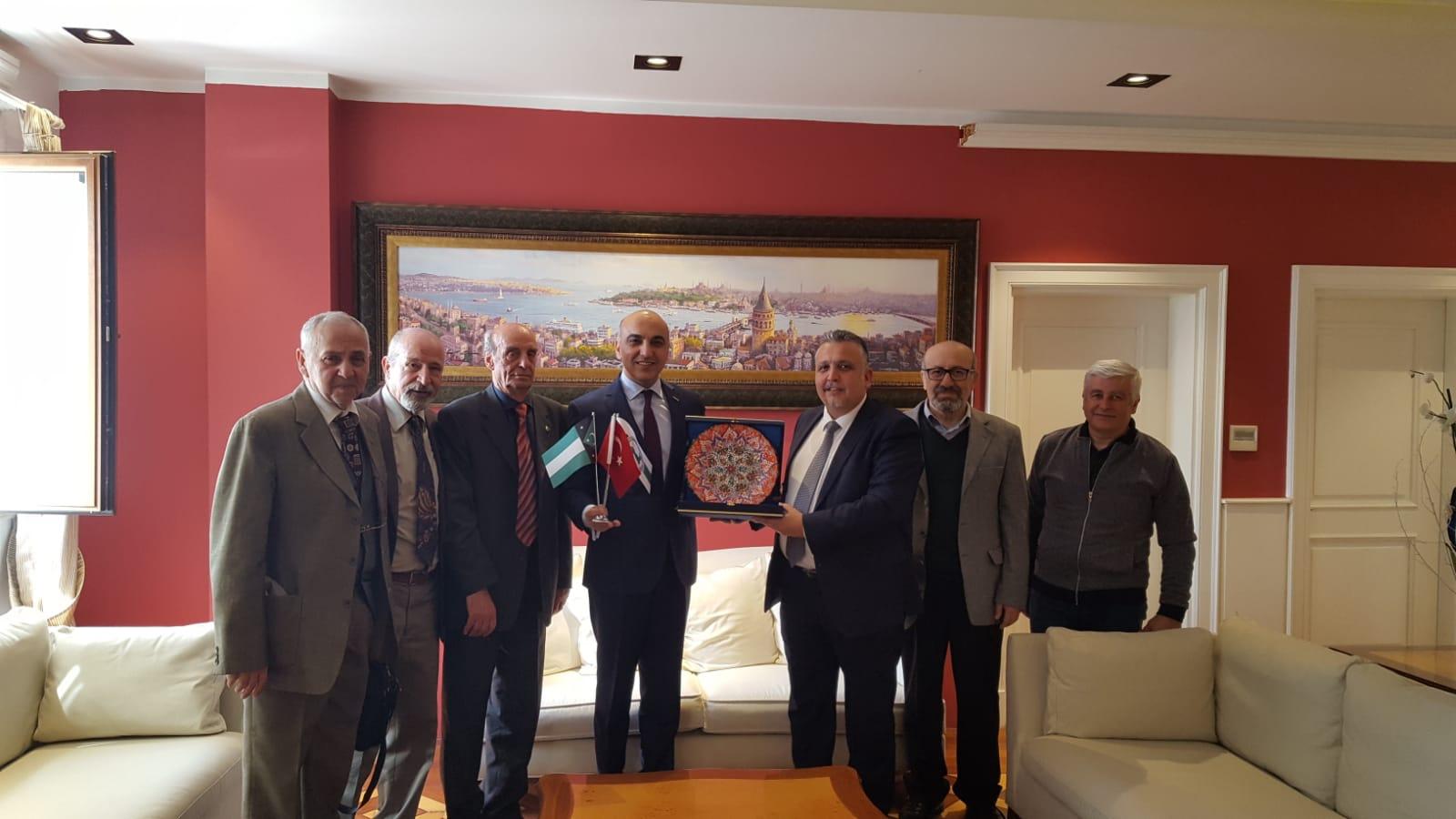Bakırköy Belediye Başkanına Hayırlı Olsun Ziyareti