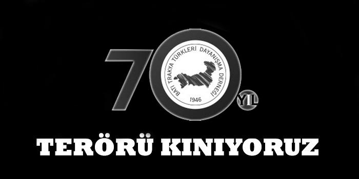 İstanbul'daki Terör Saldırısını Kınıyoruz