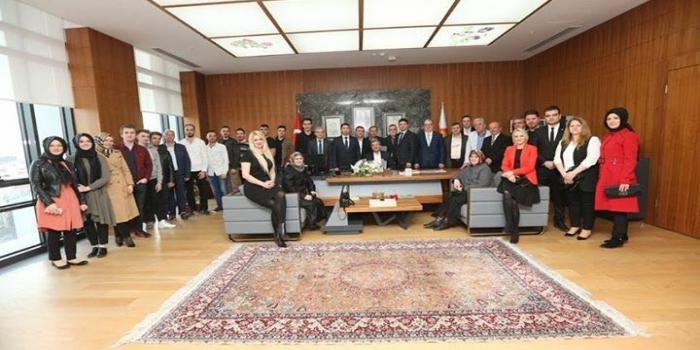 Batı Trakya Camiasından Zeytinburnu Belediye Başkanına Ziyaret