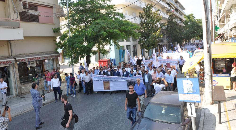 Batı Trakya Türk Azınlığı Sokakta
