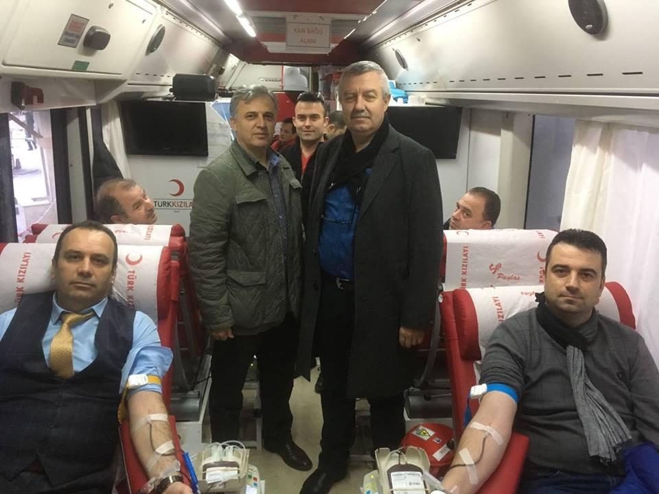 Batı Trakya'dan Mehmetçik İçin Kan Bağışı