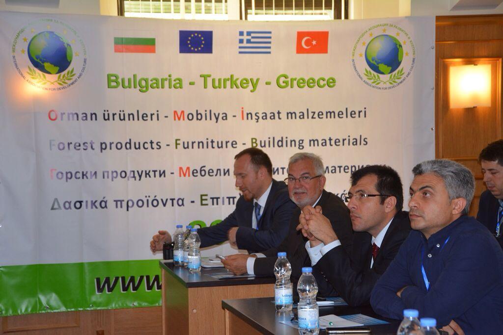 Bölge İş Adamları Bulgaristan'da Buluştu