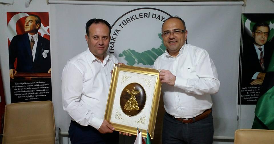 BTTDD Bursa Şubesi Kozlukebir Belediye Başkanı'nı ağırladı