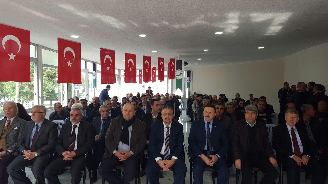 BTTDD Soma Şubesinde Mehmet Akın Dönemi Devam ediyor