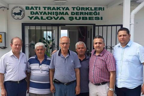 BTTDD Yalova Şubesi Üyeleri İftarda Buluştu