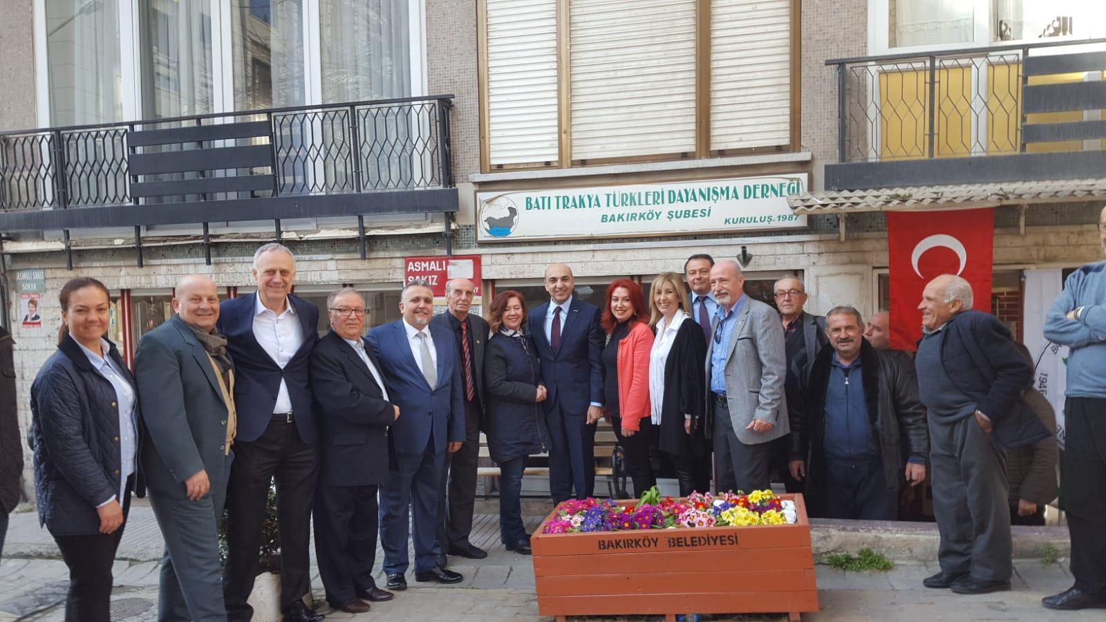 Bülent Kerimoğlu'ndan  Bakırköy Şubemize Ziyaret
