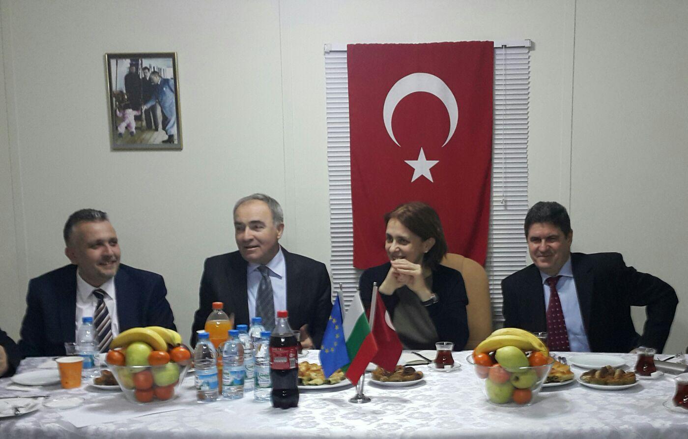 Bulgaristan Büyükelçisi Rumeli Türk Dernekleri Federasyonunu Ziyaret Etti