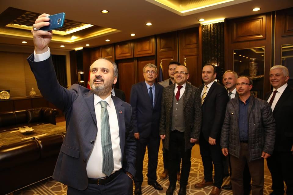 Bursa Büyükşehir Belediyesi'nde Sıcak Kabul