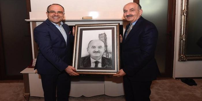 Bursa Şube Yönetimi Bakan Müezzinoğlu Tarafından Kabul Edildi