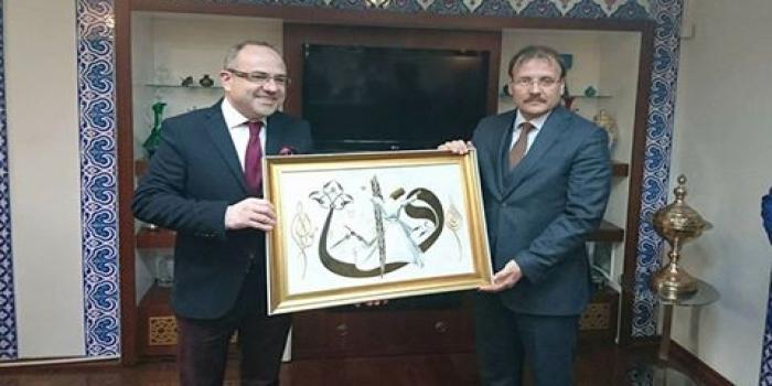 Bursa Şube Yönetimi, Hakan Çavuşoğlu Tarafından Kabul Edildi