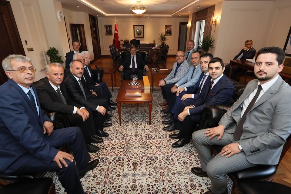 Bursa Şubemiz Hakan Çavuşoğlu'nu Panayıra Davet Etti