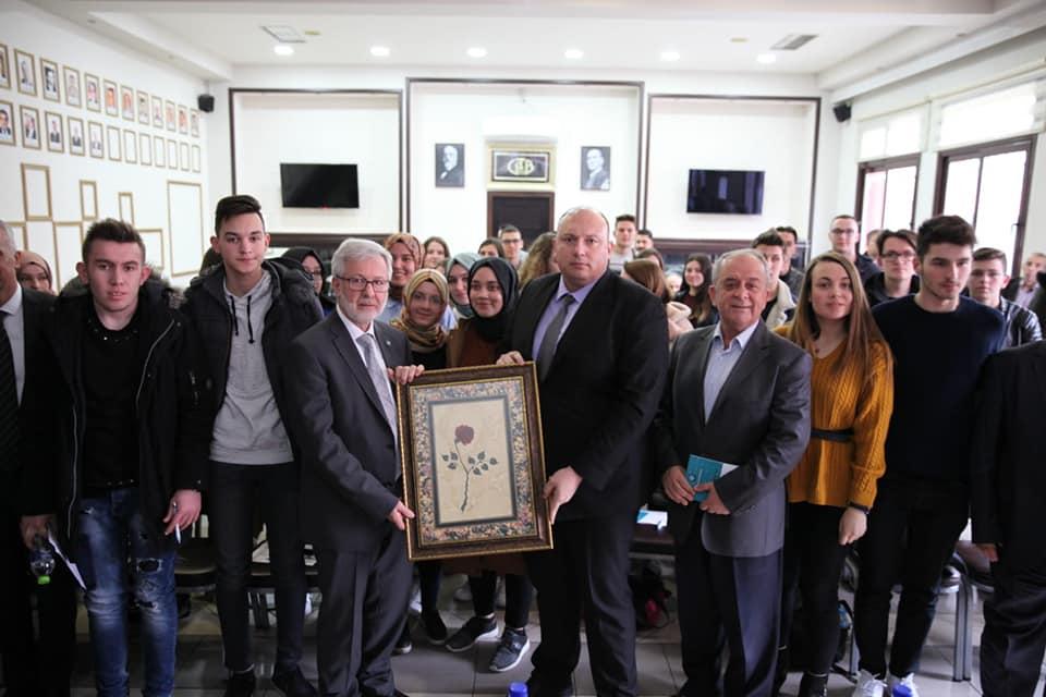 Bursa Şubemiz Uludağ Üniversitesi Rektörünü Batı Trakya'da Ağırladı