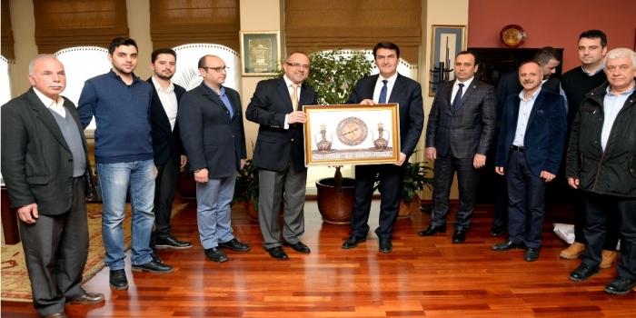 Bursa Şubemizden Belediye Başkanlarına Teşekkür Ziyareti