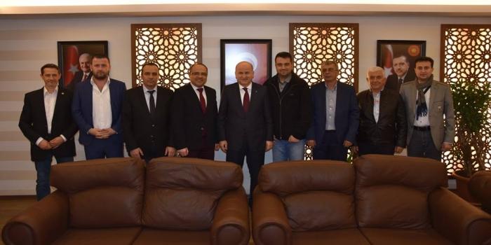 Bursa Şubemizden İl Başkanlarına Ziyaret