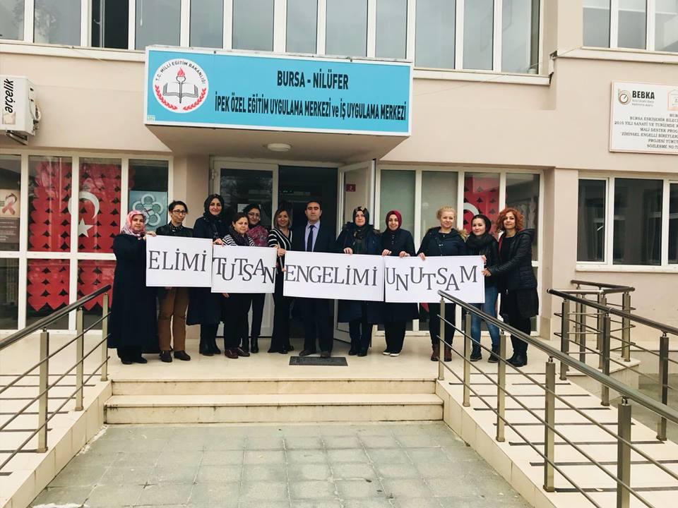 Bursa Şubesi Kadın Kollarımızdan, Engelliler Haftası'nda Önemli  Ziyaret