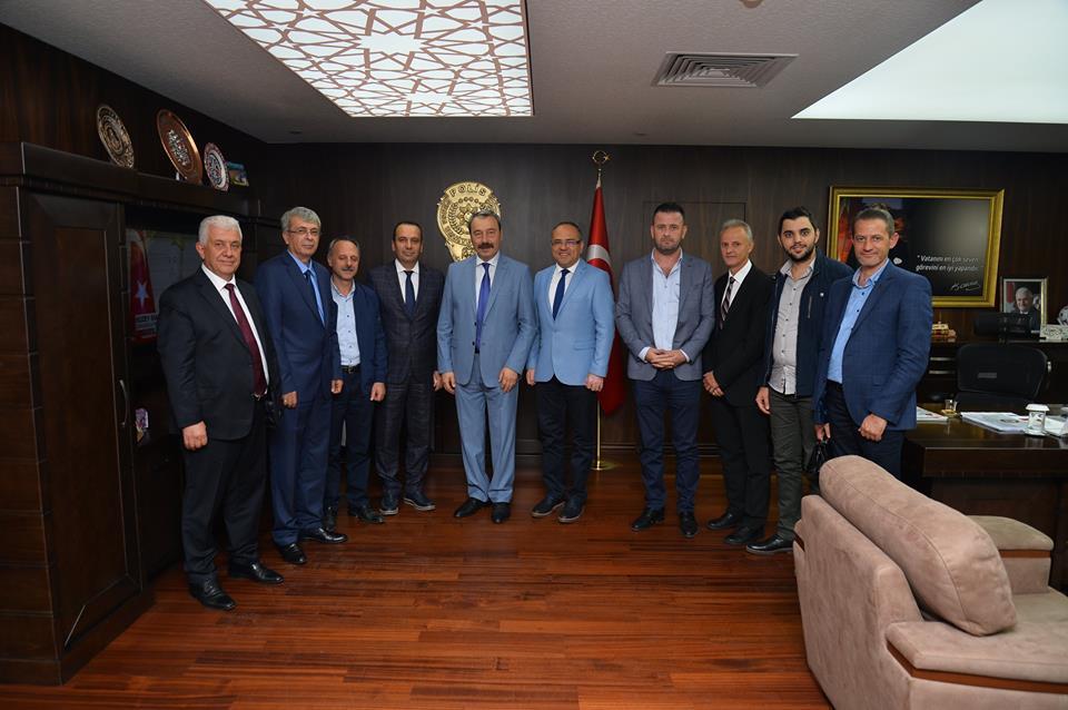 Bursa ŞubeYönetimi Emniyet Müdürü'nü ziyaret etti