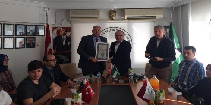 Bursa'da Batı Trakya'dan Gelen Öğrenci Misafirlerimiz Ağırladık