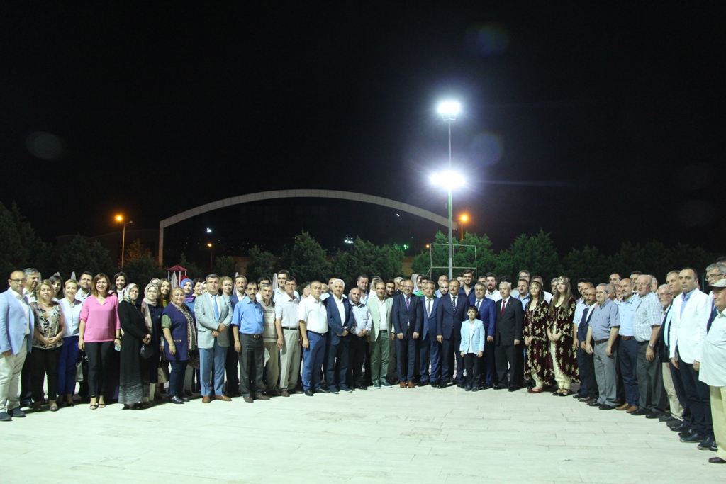 Bursa'da Bayramlaşma Başbakan Yrd. Hakan Çavuşoğlu'nun Katılımı İle Gerçekleşti