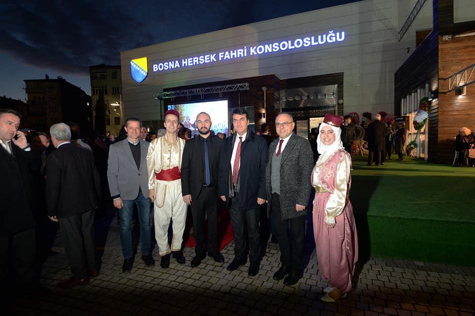 Bursa'da Bosna Hersek Bağımsızlık Günü Resepsiyonu Gerçekleşti