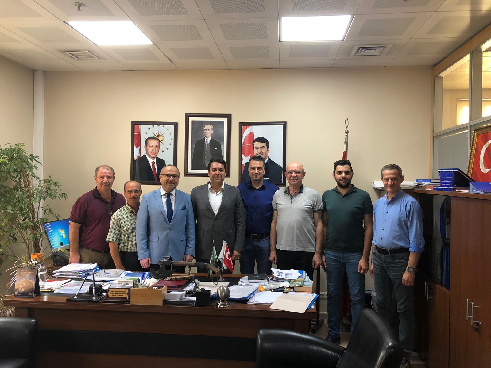 Bursa'da Cem Kürşad Hasanoğlu Ziyaret Edildi