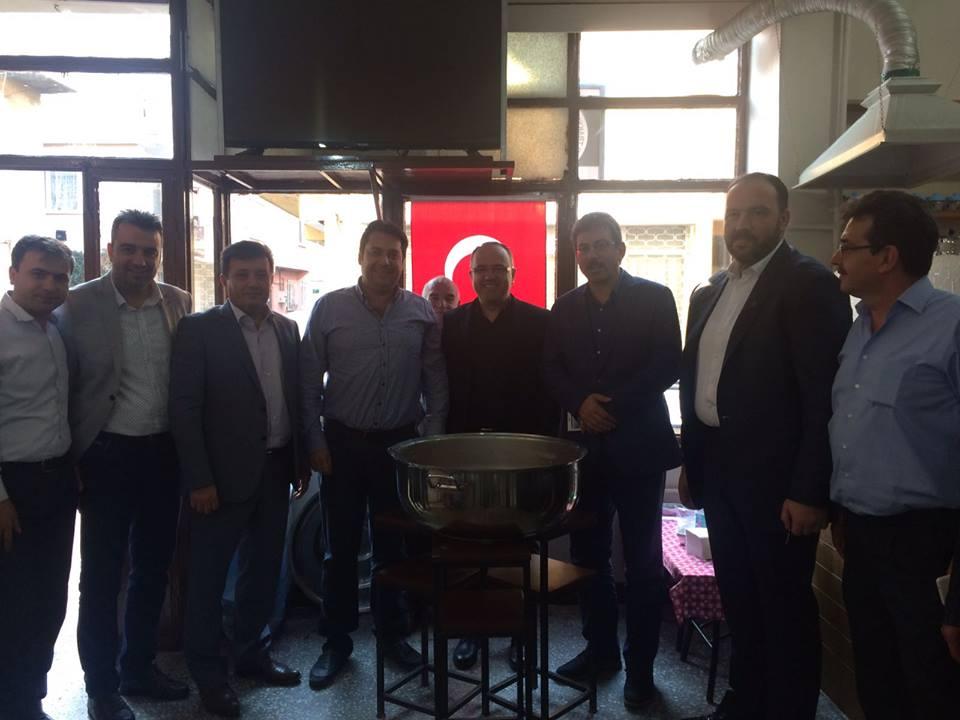Bursa'da Çiftehavuzlar Lokalimizde Aşure Hayrı Yapıldı