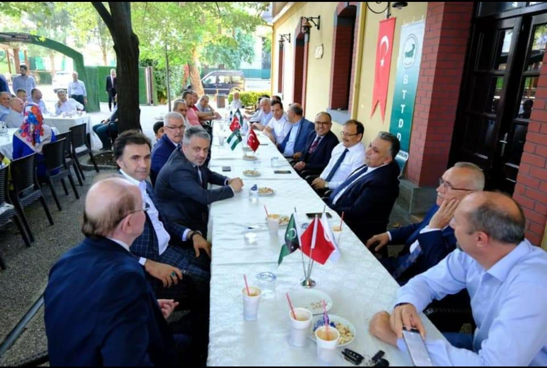 Bursa'da Hemşehrilerimizle Bayramlaştık