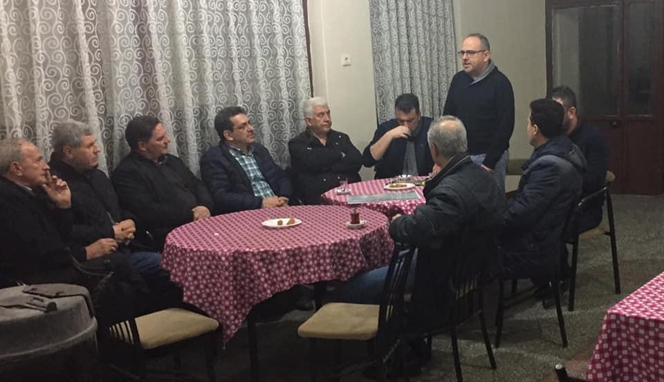 Bursa'da Mahalle Ziyaretleri Devam Ediyor