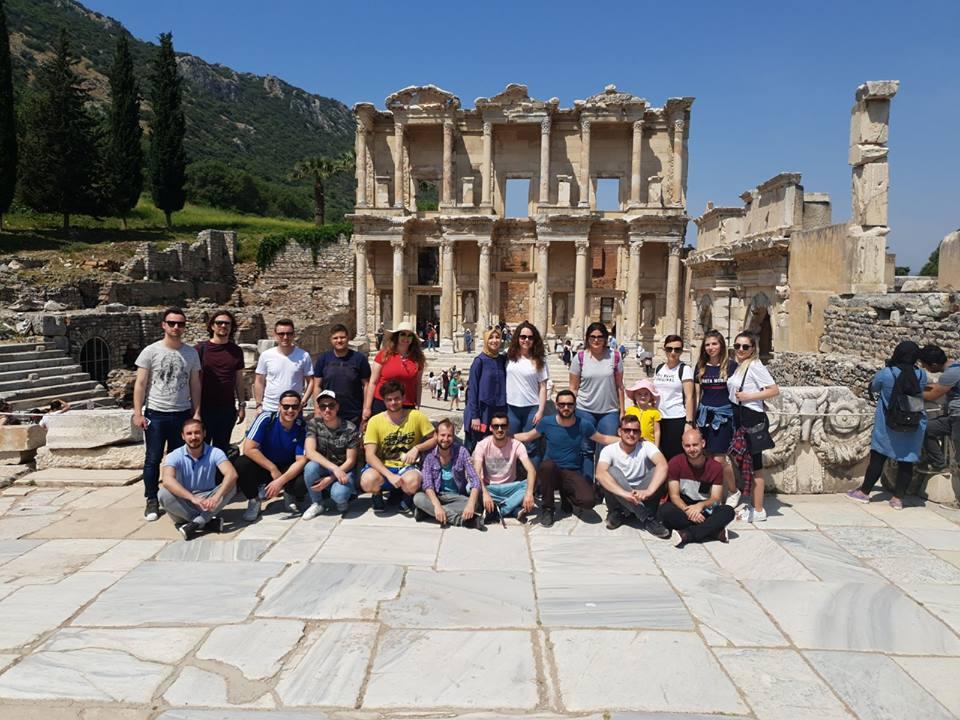 Bursalı Gençler'den İzmir'e Kültürel Gezi
