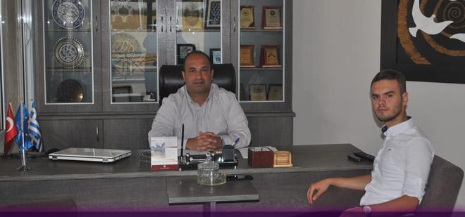 Çanakkale Temsilcimiz DEB Partisini Ziyaret Etti