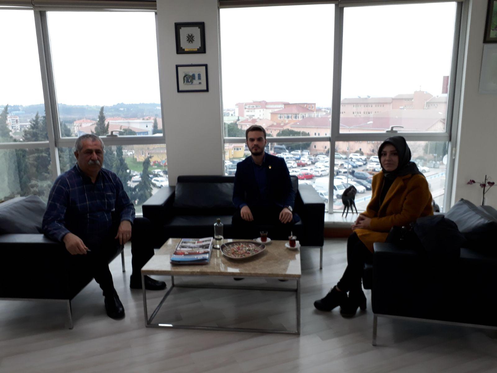 Çanakkale Temsilcimiz Kepez Belediye Başkanını Ziyaret Etti.
