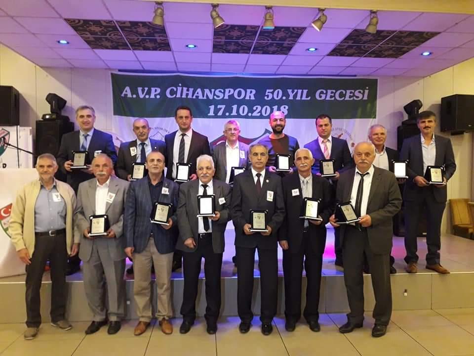 AVP Cihanspor Kulübümüz 50.Yılını Kutladı