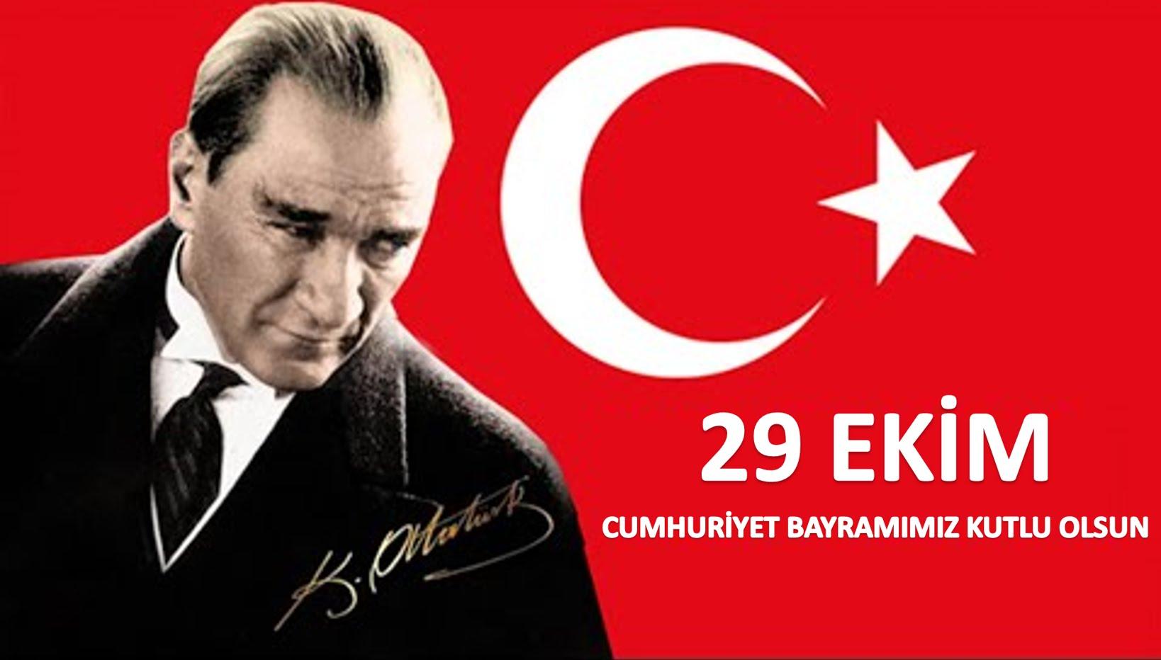 Cumhuriyetimizin 95.Yılını Coşkuyla Kutluyoruz