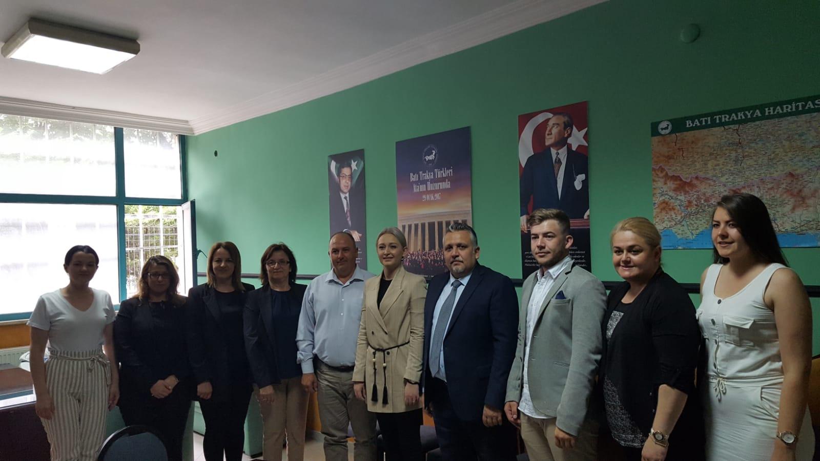 DEB Partisi Genel Başkan ve Yöneticileri Genel Merkezimizi Ziyaret Etti
