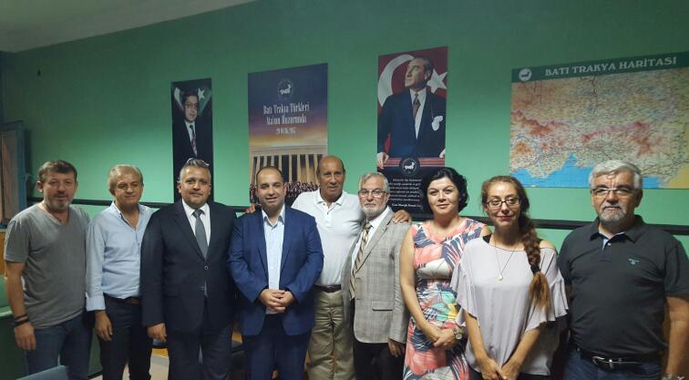 DEB Partisi Genel Başkanı Derneğimizi Ziyaret Etti