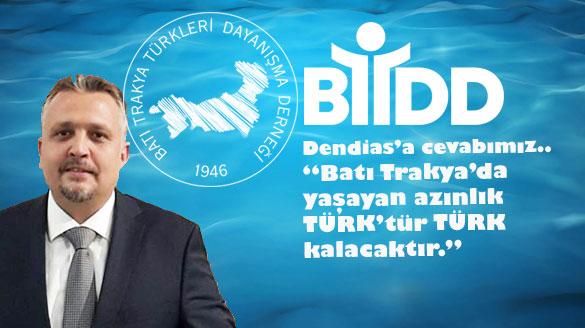 Dendias'a Cevabımız.. Batı Trakya'da Yaşayan Azınlık Türk'tür Türk Kalacaktır