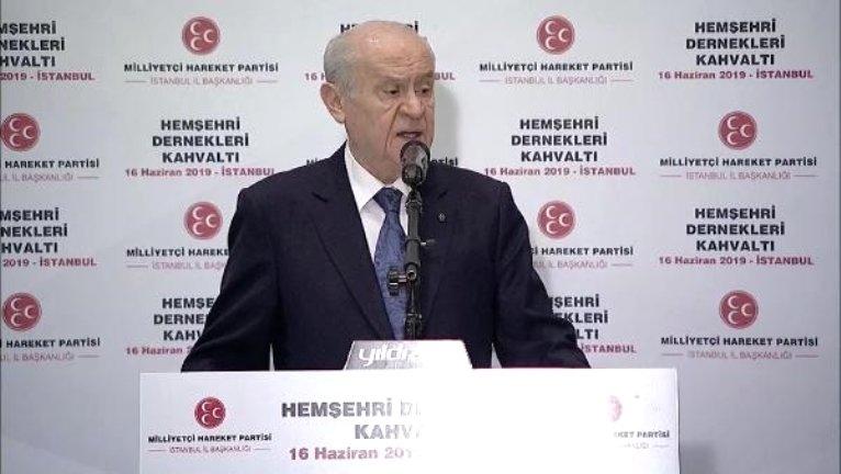Devlet Bahçeli İstanbul'da STK Yöneticileri İle Buluştu