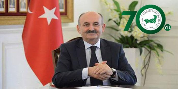 Dr. Mehmet Müezzinoğlu Çalışma ve Sosyal Güvenlik Bakanı