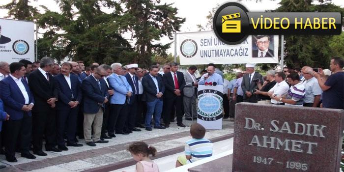 Dr. Sadık Ahmet 21. Yıl Anma Töreni Tek Rumeli TV Gündem Özel