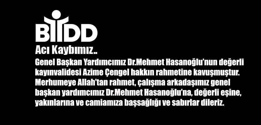 Dr.Mehmet Hasanoğlu Kayınvalidesini Kaybetti