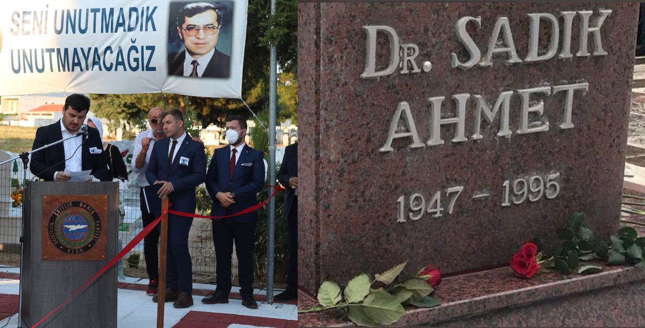 Dr.Sadık Ahmet Aramızdan Ayrılışının 26.Yılında Anıldı
