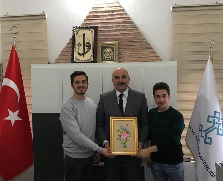 Edirne Temsilcimiz İl Kültür ve Turizm Müdürlüğü'nü Ziyaret Etti