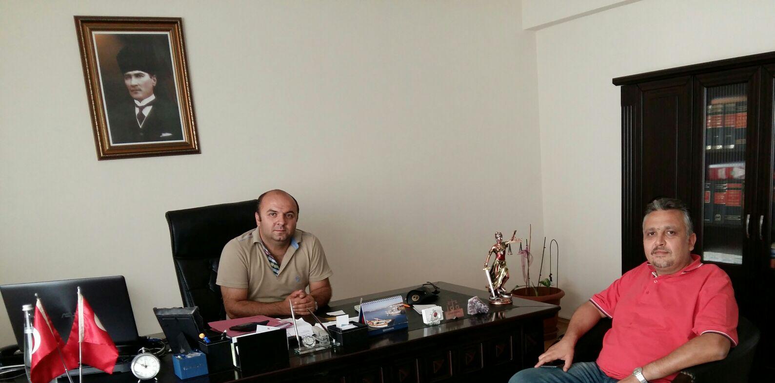 Genel Başkan Av. Necmettin Hüseyin'den Edremit Şubesine Ziyaret